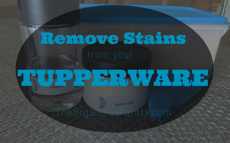 How to Get Stains Out of Your Tupperware